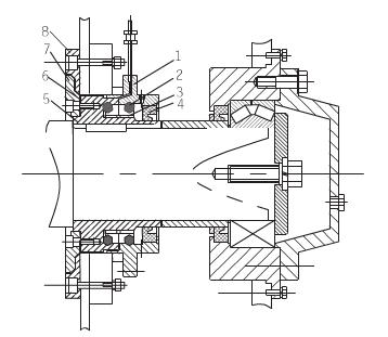 js系列混凝土搅拌机轴端密封设计
